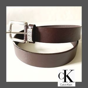 CK Barber Leather Brown Belt